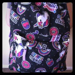 Other - 💄🦄  2 LEFT Black unicorn school backpack 🎒🦄⭐️